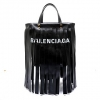 Túi xách Balenciaga 5178420K12g1060 Black Leather Tote