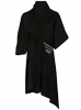 "Đầm Balenciaga Women""s 492257Txk231310 Black Cotton Dress"