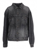 "Balenciaga Women""s 519953Txe067767 Black Cotton Jacket"